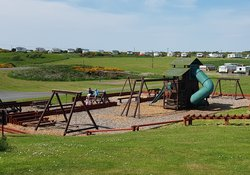 Children's play park - Situated in the centre of the park is the children's playground.