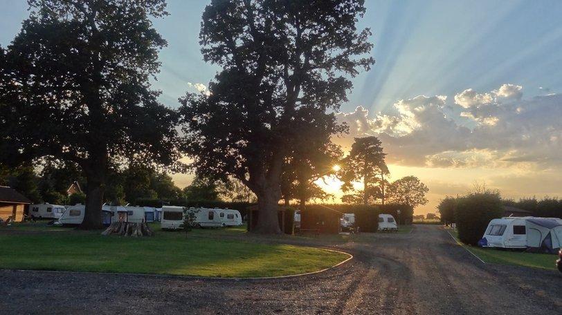 Sunset - Caravan Park