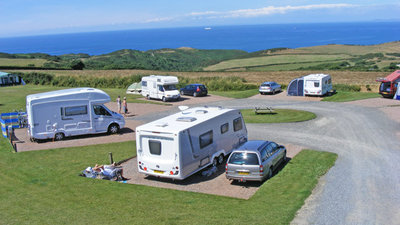 Picture of Damage Barton Camping and Caravanning Club Site, Devon