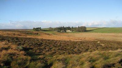 Across the moors to Tranmire (© Chris Heaton/Across the moors to Tranmire (original photo: https://commons.wikimedia.org/wiki/File:Across_the_moors_to_Tranmire_-_geograph.org.uk_-_310191.jpg))