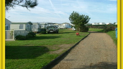 Photo of the caravans on the park