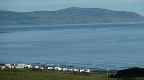 Lovely, sea area near the caravan site