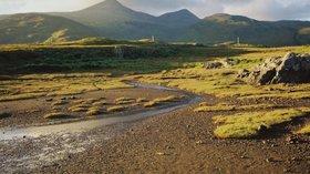 Isle of Mull, Loch Scridain & Ben More near the caravan park (© By Dirk Elsthout (Dirk Elsthout) [CC0], via Wikimedia Commons)