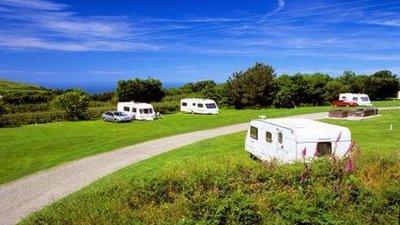 Photo of Willingcott Caravan Club Site - Nice view on the Willingcott Caravan Club Site