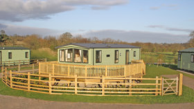 Thorpe Farm Centre Holiday Home - New Holiday Home with huge decking sited at Thorpe Farm