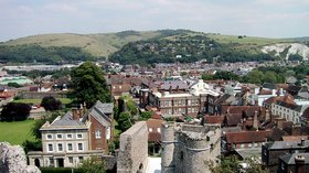 Lewes udsigt (© By Missjensen at da.wikipedia (Own work) [Public domain], via Wikimedia Commons)