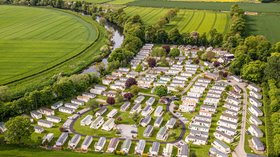 Aerial view of the park - Newbus Grange Country Park, Durham