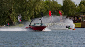 Talington Lakes Lakeside Bar Waterski - Water skiing at Tallington Lakes