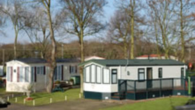 Holiday homes on the park