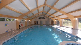 Pool & Spa - Our new Indoor Pool, Spa and Sauna (© Corringham Ltd)
