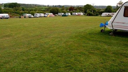 Camping field - Top of field 2 family field