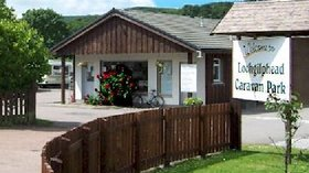 One of our holiday homes on the caravan park