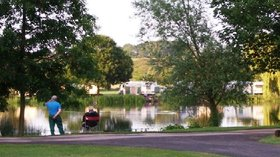 Picture of Yarwell Mill Caravan Park, Northamptonshire