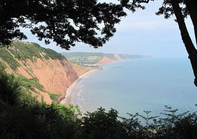 Sidmouth from High Peak