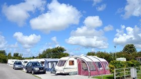 Kneps Farm Holiday Park - super deluxe pitches