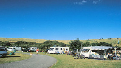 Picture of Sheepcote Valley Caravan Club Site, East Sussex, South East England