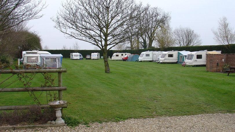 Holiday park near Spalding - Hagbeach Manor Caravan Park, Lincolnshire (© s pearce)