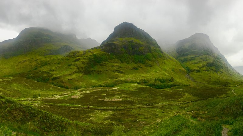 Try camping near the Three Sisters of Bidean nam Bian - The Three Sisters of Bidean nam Bian (Glencoe).