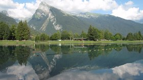 Le Criou from lac aux Dames (Samoens) (© By Tangopaso (Own work) [Public domain], via Wikimedia Commons)