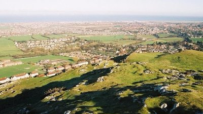 Prestatyn - view over town from Dyserth (© © Copyright Chris Downer (http://www.geograph.org.uk/profile/14700) and licensed for reuse (http://www.geograph.org.uk/reuse.php?id=448510) under this Creative Commons Licence (https://creativecommons.org/licenses/by-sa/2.0/).)