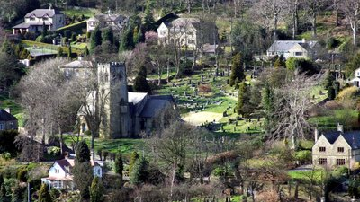 St John's Church, Upperthong, Holmfirth (© By Richard Harvey [GFDL (http://www.gnu.org/copyleft/fdl.html), CC-BY-SA-3.0 (http://creativecommons.org/licenses/by-sa/3.0/) or CC BY 2.5  (https://creativecommons.org/licenses/by/2.5)], from Wikimedia Commons (GFDL copy: https://en.wikipedia.org/wiki/GNU_Free_Documentation_License, original photo: https://commons.wikimedia.org/wiki/File:St_John%27s_Church,_Upperthong,_Holmfirth,_West_Yorkshire,_UK_(RLH)_2007-03-21.jpg))