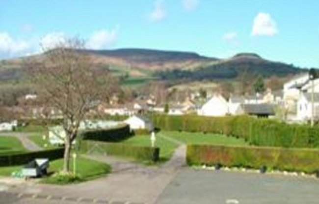 Picture of Riverside Caravan Park, Powys, Wales