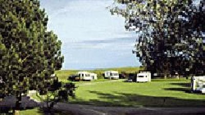 Tourers on Dalchalm Caravan Club Site, Highland