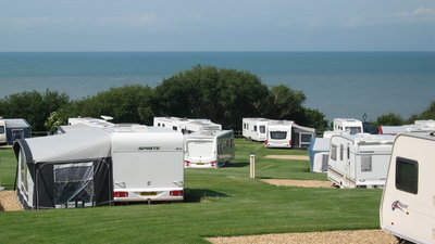 Touring field - Sea View (© Cei Bach Country Club)