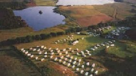 Picture of Three Lochs Holiday Park, Dumfries & Galloway from the helicopter view