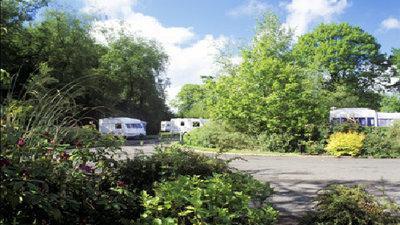 Photo of Putts Corner Caravan Club Site, Devon, South West England