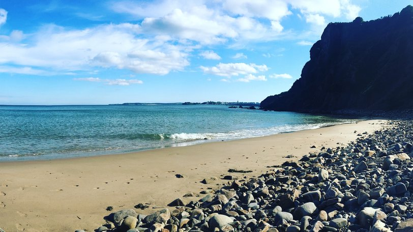 Monkstone Beach