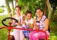 2015-Marlie-Children-Sitting-on-Bike-Kart-Eating-Ice-Cream-(2)