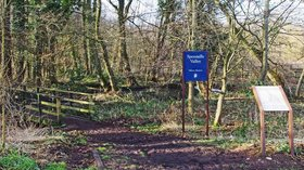 Entrance to Spennells Valley Nature Reserve, Kidderminster  (© © Copyright P L Chadwick (https://www.geograph.org.uk/profile/20846) and licensed for reuse (https://www.geograph.org.uk/reuse.php?id=3337962) under this Creative Commons Licence (https://creativecommons.org/licenses/by-sa/2.0/).)