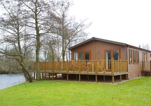 Photo of Lodge: The Ardle Lodge with Hot tub