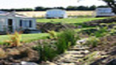 Photos of the caravans on the park