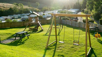 Corrie outdoor play area