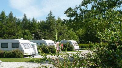 Longnor Wood Caravan & Camping - Tourers at the park