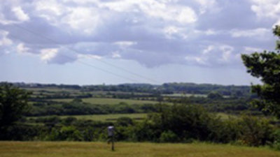 Picture of Lavender Fields Touring Park, Cornwall, South West England - Landscape seen from the Lavender Fields Touring Park