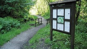 Information board in Cwm Clydach Nature Reserve  (© © Copyright Nigel Davies (https://www.geograph.org.uk/profile/860) and licensed for reuse (http://www.geograph.org.uk/reuse.php?id=177770) under this Creative Commons Licence (https://creativecommons.org/licenses/by-sa/2.0/).)