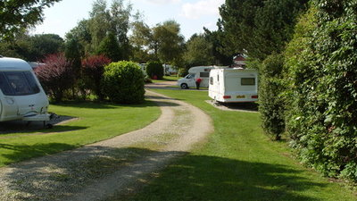 Picture of Overbrook Caravan Park, North Yorkshire, North of England - Touring field
