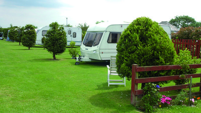 Our touring pitches - The Laurels Holiday Park