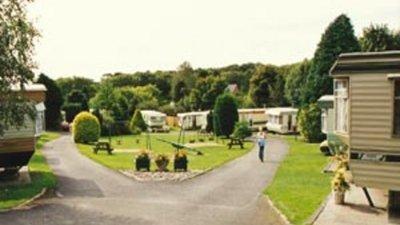 Picture of Northcliff Caravan Park, Pembrokeshire, Wales - Static caravans at Northcliff Caravan Park