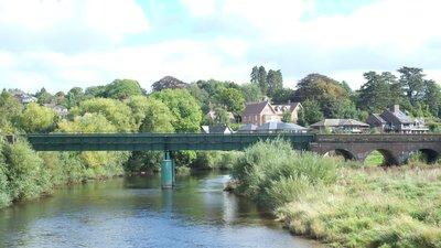 Eign bridge, Hereford by John Winder (© John Winder/Eign bridge, Hereford (original photo: https://commons.wikimedia.org/wiki/File:Eign_bridge,_Hereford-geograph-5127534-by-John-Winder.jpg))