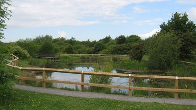 Newton Aycliffe Nature Park near the caravan site (© © Copyright peter robinson (https://www.geograph.org.uk/profile/35478) and licensed for reuse (http://www.geograph.org.uk/reuse.php?id=1355790) under this Creative Commons Licence (https://creativecommons.org/licenses/by-sa/2.0/).)