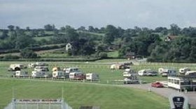 Picture of Uttoxeter Racecourse Caravan Club Site, Staffordshire