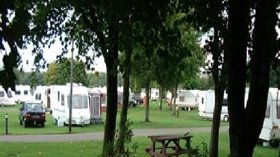 Our touring field near the caravan site