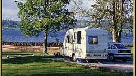 Tourer on the caravan site