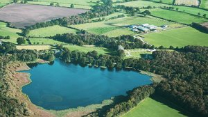 bramblebeck-caravan-park aerial-view - Bramble Beck Country Park aerial view