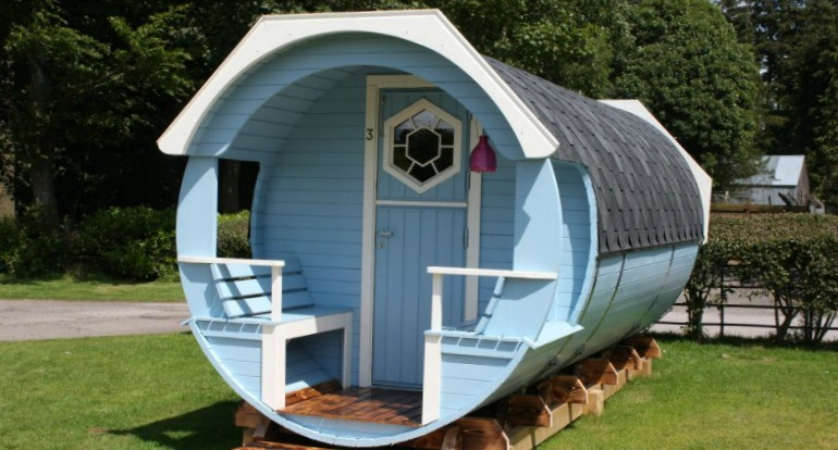 Hoddom Castle Caravan and Camping Park - Chill Pod