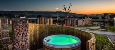 Best winter breaks in the UK - Hot tub holiday, Isle of Wight